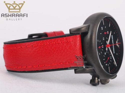 ساعت قرمز رنگ آرمانی اسپرت Emporio Armani Ar1895