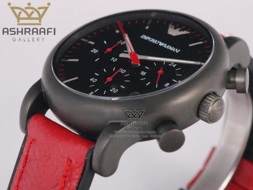 ساعت اسپرت قرمز رنگ Emporio Armani Ar1895