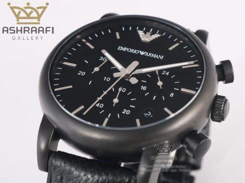 ساعت صفحه مشکی Emporio Armani Ar1895
