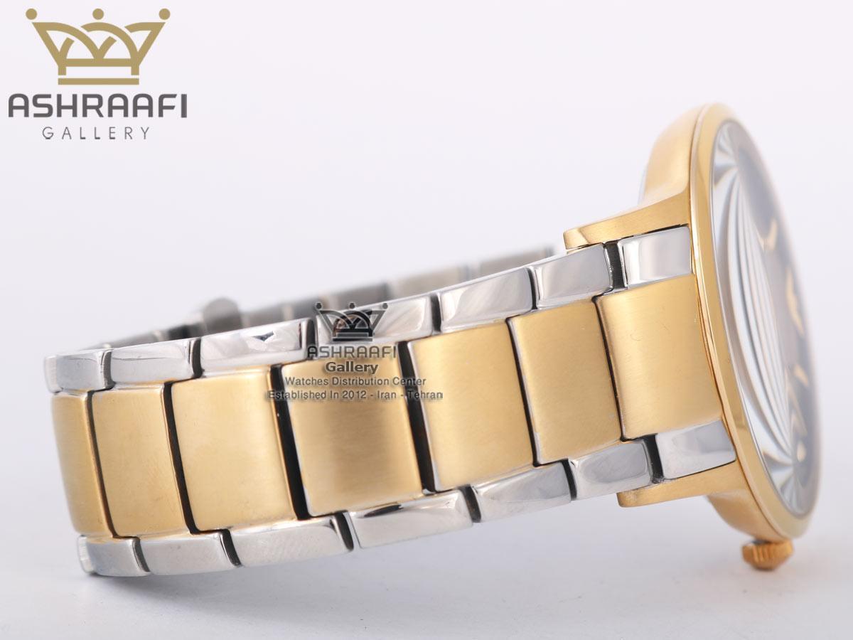ساعت مردانه کلاسیک دو رنگ طلایی Emporio Armani Ar2467