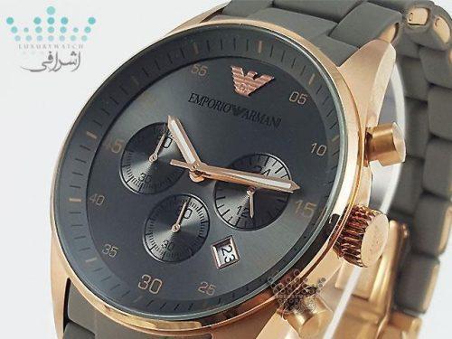 ساعت خاکستری آرمانی Emporio Armani-W2