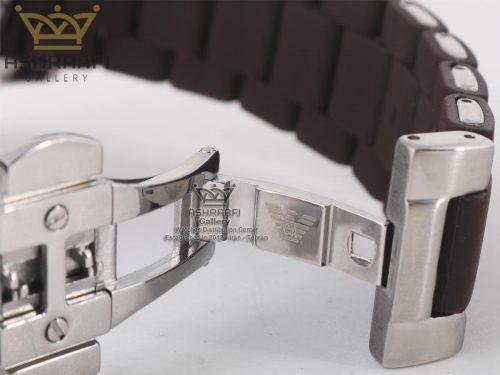 نمای داخلی قفل ساعتEmporio Armani ar5860SBR