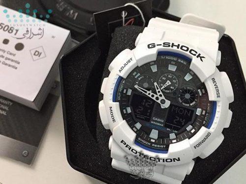 جعبه ساعت G-Shock GA-100BW