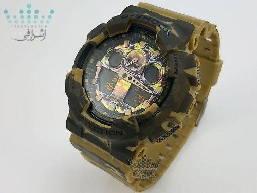 ساعت جی شاک چریکی G-Shock GA-100CMF