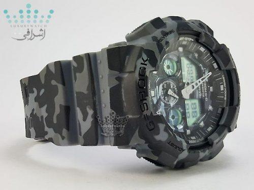 ساعت های کپی جی شاک با اتولایت G-Shock GA-100CMF