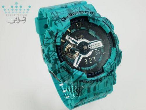 ساعت جی شاک آبی G-Shock GA-110SLF
