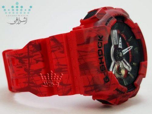ساعت های کپی جی شاک قرمز G-Shock GA-110SLF