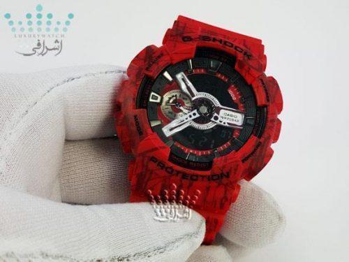 عکس روی دست ساعت G-Shock GA-110SLF