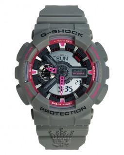 ساعت خاکستری جی شاک G-Shock GA-110TS