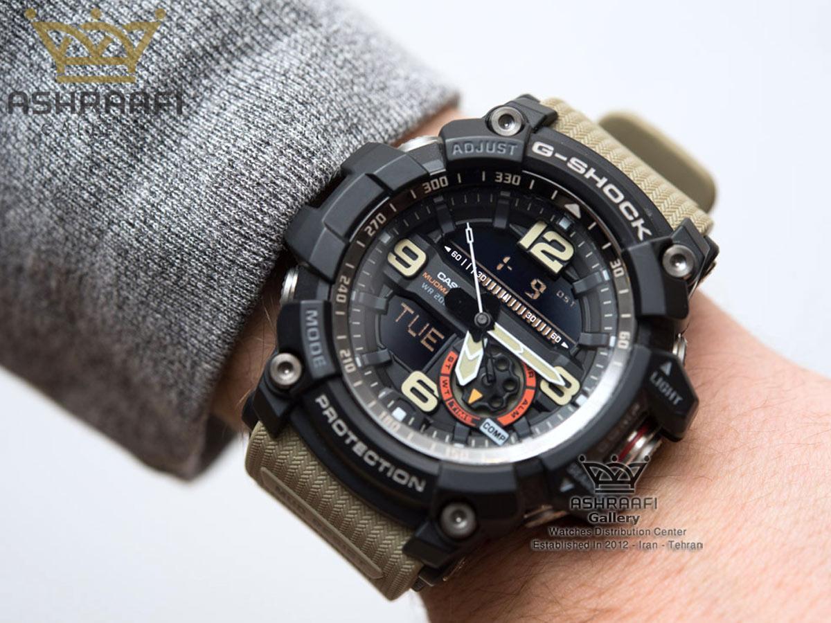 عکس روی مچ ساعت G-Shock GG-1000G