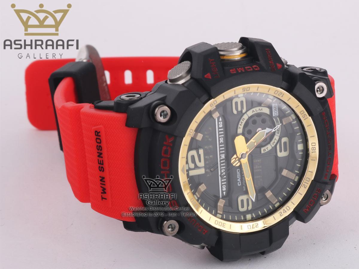 ساعت جی شاک های کپی قرمز G-Shock GG-1000G