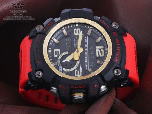 ساعت قرمز جی شاک های کپی سنسور دار G-Shock GG-1000G