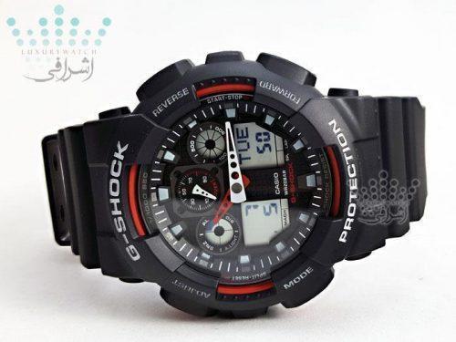 ساعت جی شاکG-shock GA-100-1A4DR-05