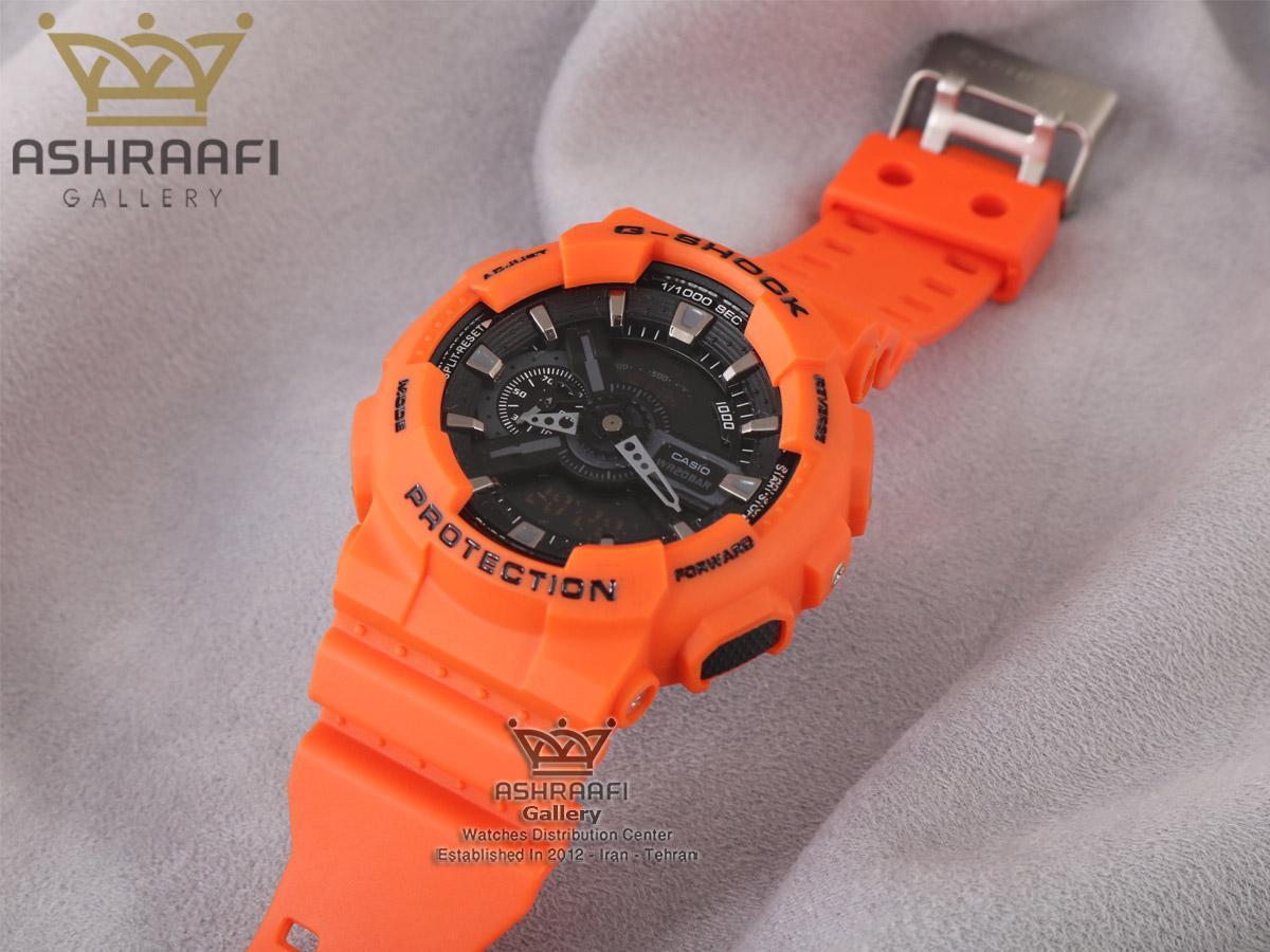 قیمت ساعت جی شاک نارنجی G-shock GA-110 HCO