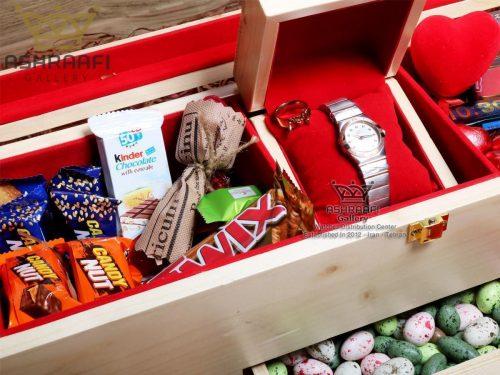 فروش جعبه کادویی ساعت مچی Gift Box ashraafi-A1