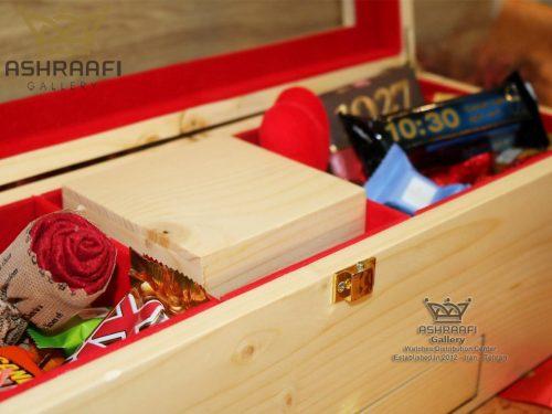 جعبه لوکس ساعت برای هدیه Gift Box ashraafi-A1
