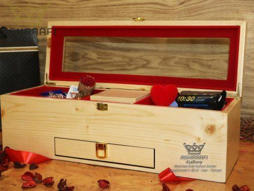 فروش جعبه شکیل کادویی ساعت Gift Box ashraafi-A1
