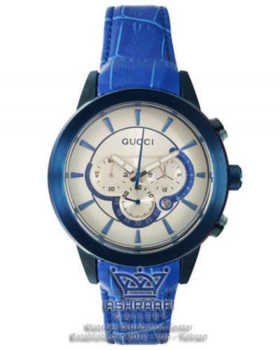 ساعت آبی رنگ مردانه گوچی Gucci 340G
