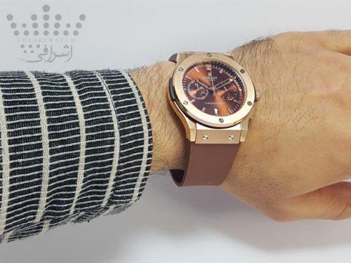 نمای روی دست ساعت هابلوت HUBLOT-3312-05