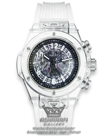 ساعت مچی هابلوت شیشه ای Hublot Unico S4