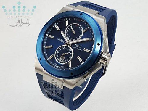 ساعت IWC آبی رنگ