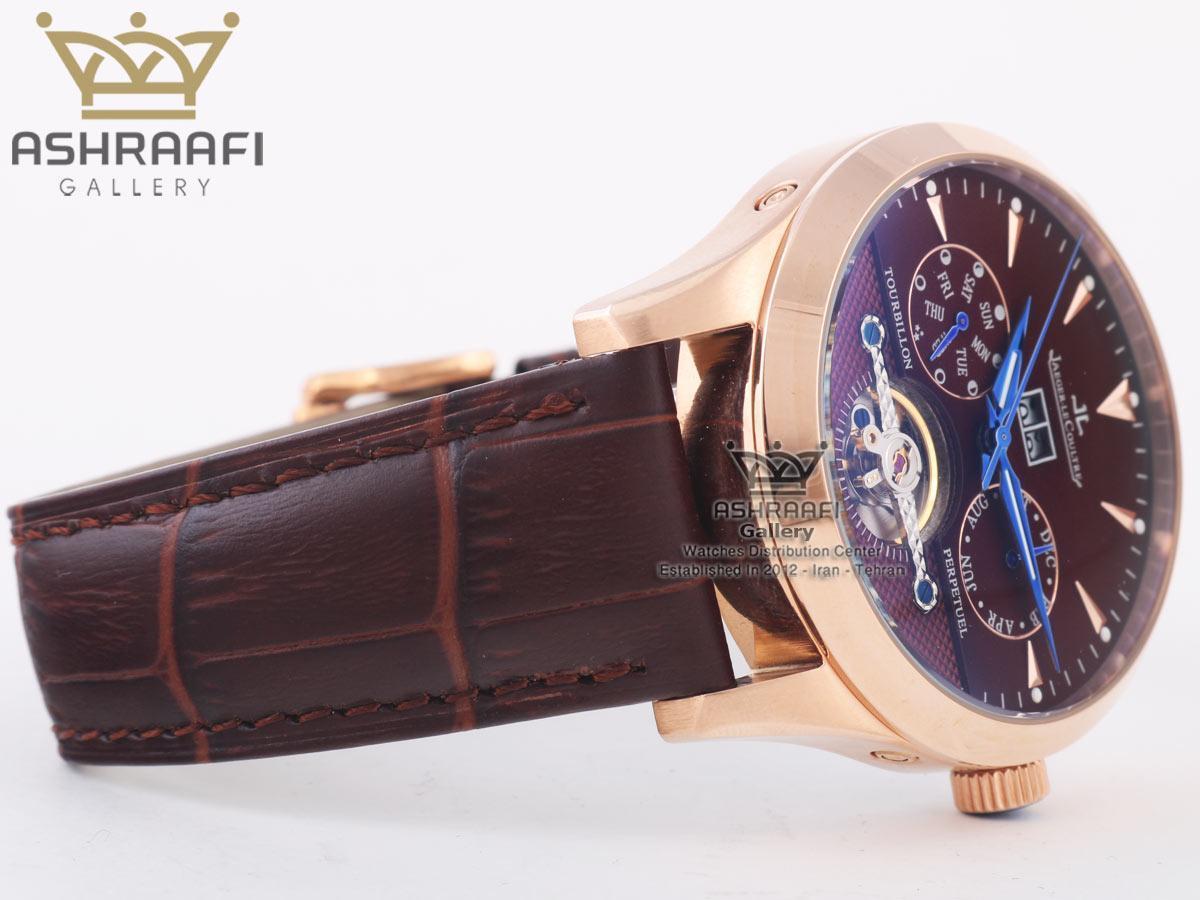 ساعت قهوه ای رنگ Jaeger Lecoultre BR90