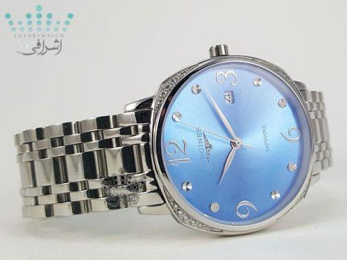 ساعت صفحه آبی مردانه و زنانه