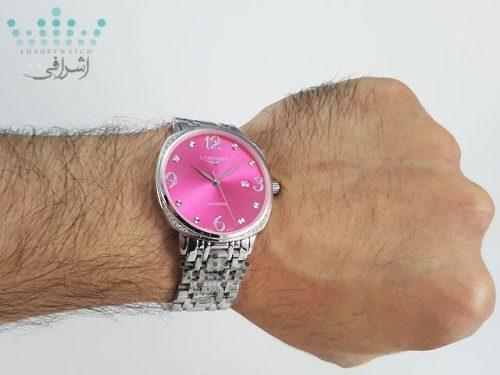 ساعت لونژین استیل مردانه 2020  با رنگبندی بسیار جذاب و خاص
