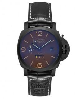 ساعت لومینور پنرای تمام مشکی Luminor Panerai 8Day 3