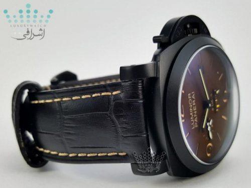 ساعت مشکی پنرای Luminor Panerai 8Day 3