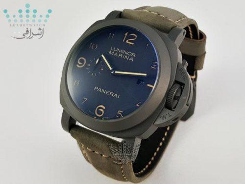 ساعت خاکستری رنگ پنرای Luminor Panerai 8Day 3