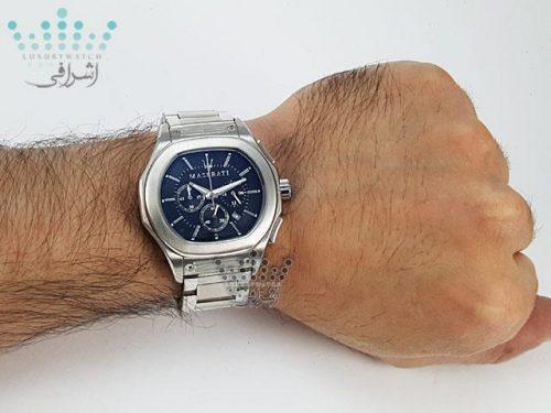ساعت مازراتی فلزی روی مچ Maserati Fuoriclasse R9