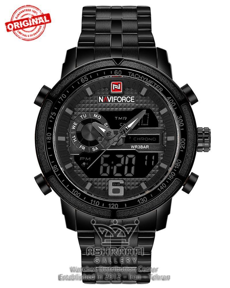 ساعت تمام فلزی ناوی فورس Naviforce 9119M