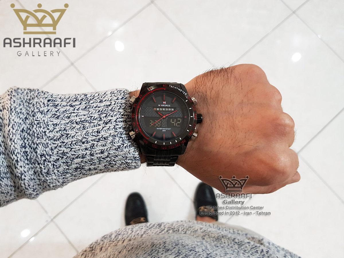 عکس روی دست ساعت Naviforce NF9024M