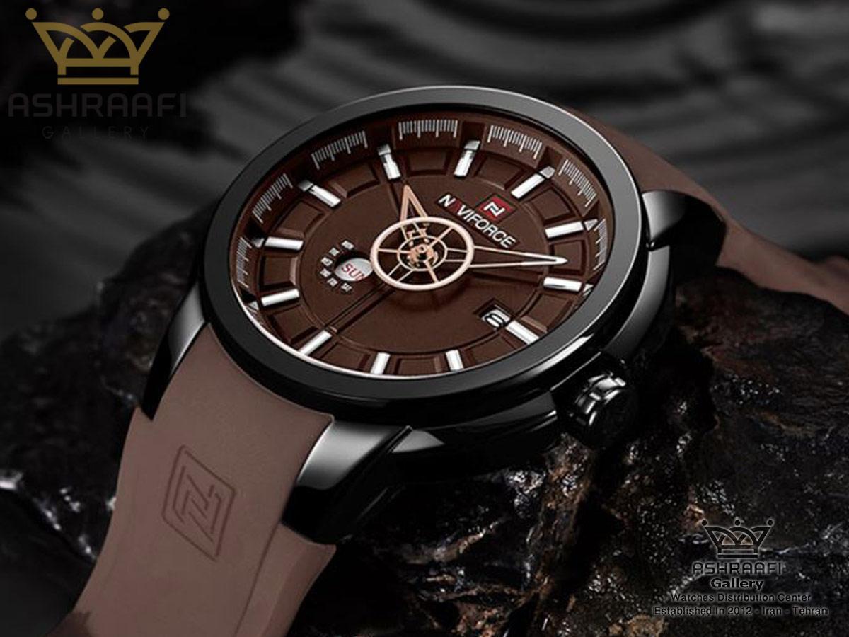 فروش ساعت بند لاستیکی نوی فورس Naviforce NF9107M