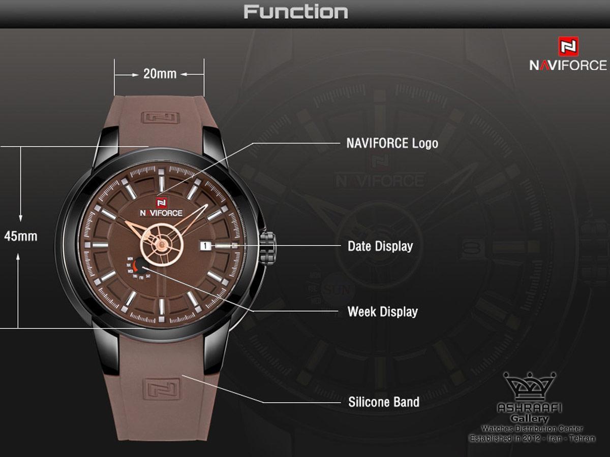 مشخصات ساعت Naviforce NF9107M
