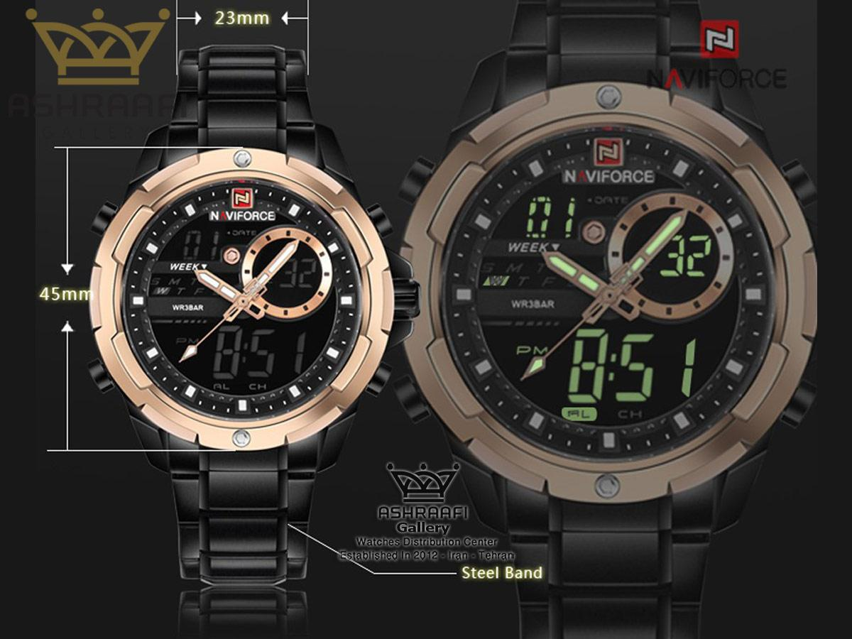مشخصات ساعت Naviforce NF9120M