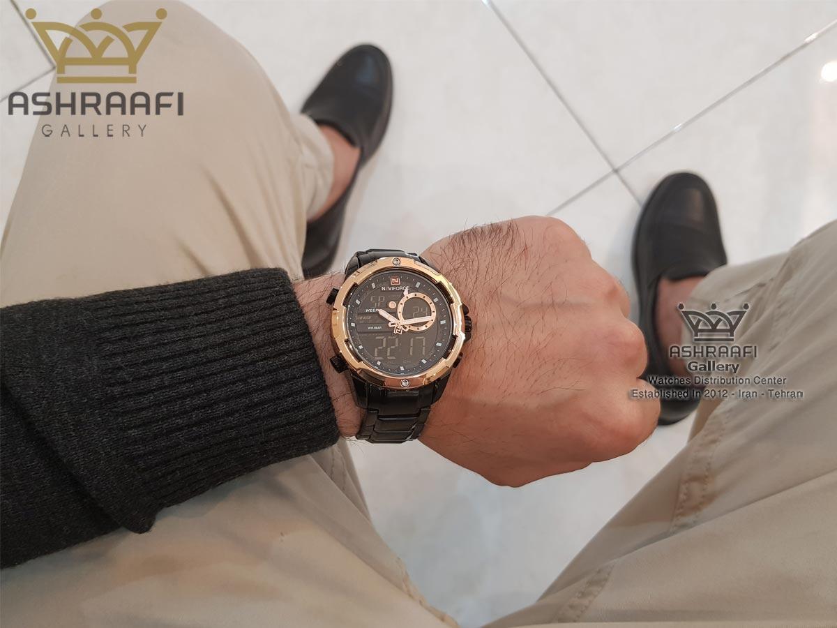 عکس روی دست ساعت Naviforce NF9120M