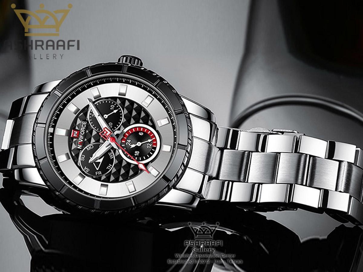 فروش ساعت اصلی ناوی فورس تمام فلزی Naviforce NF9145M
