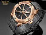 فروش ساعت مردانه بند حصیری ناوی فورس Naviforce NF9155M