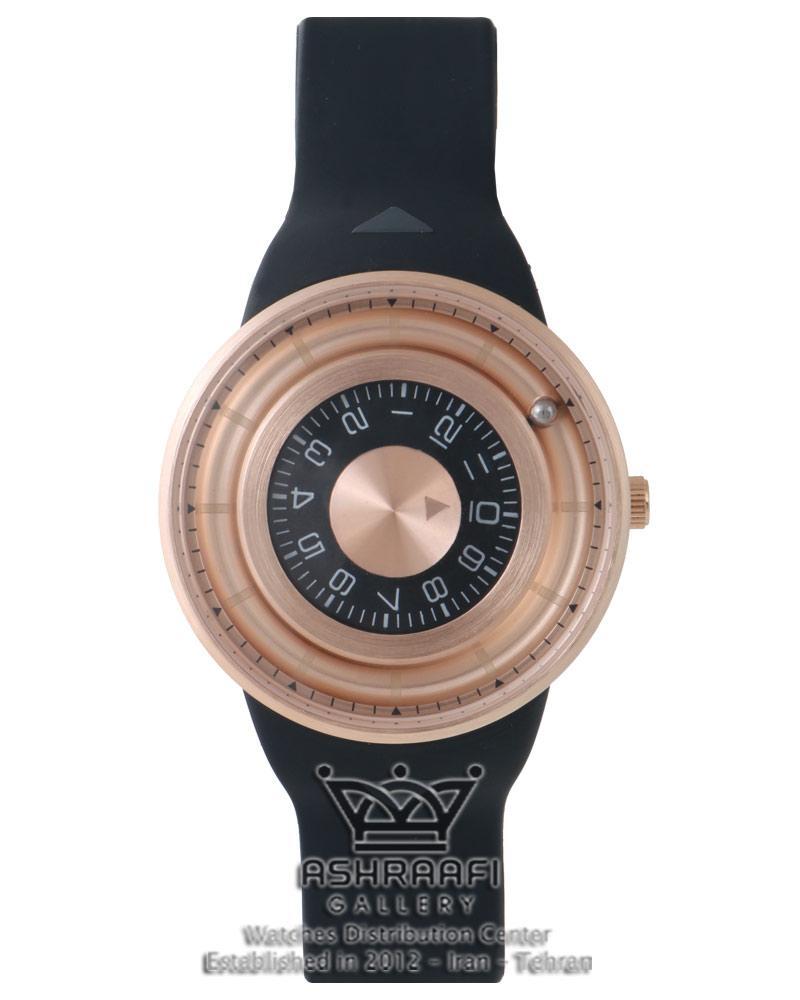 ساعت او دی ام ساچمه ای با رنگ رزگلد Odm Jupiter II