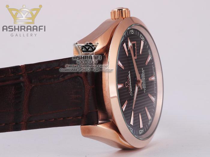 ساعت مردانه صفحه شکلاتی امگا Omega Seamaster-U