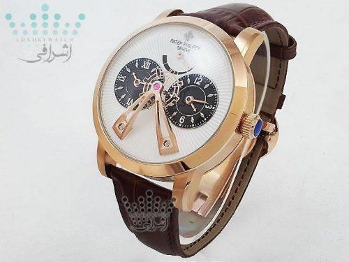 ساعت پتک فیلیپ با شیشه ی خم کروی مدل PATEK PHILIPPE Z3