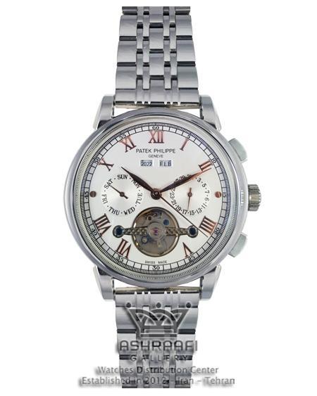 ساعت اسکلتون تمام فلزی Patek-Philippe-58152S
