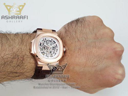 عکس روی مج ساعتPatek Philippe Nautilus A3