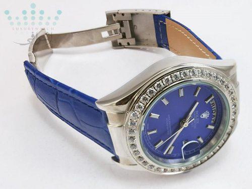 ساعت رولکس زنانه نگین دار مدل DateJust 1623-06