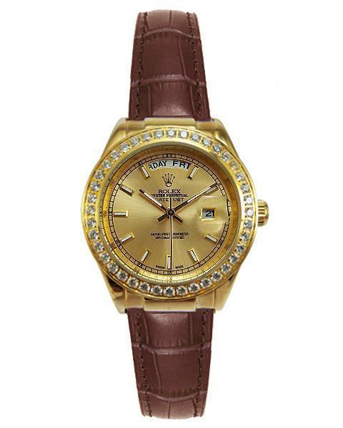 ساعت رولکس دیت جاست زنانهROLEX DateJust 1661-02