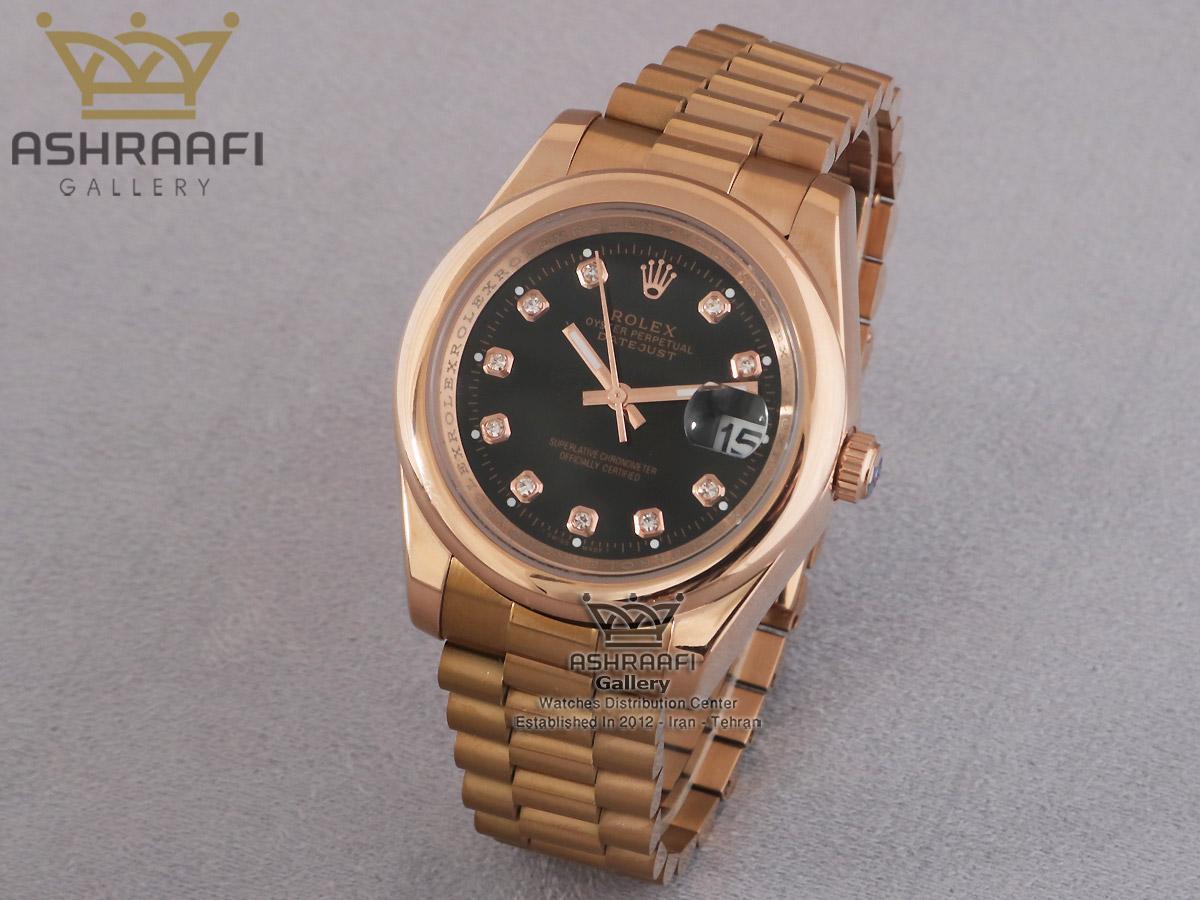 فروش ساعت رولکس های کپی رزگلد ROLEX DateJust Per2