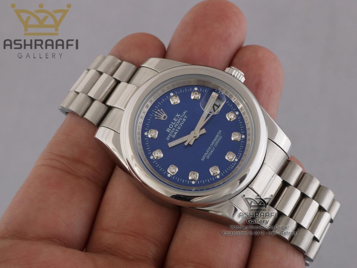 عکس روی دست ساعت رولکس دیجاست پرپچوال ROLEX DateJust Per2
