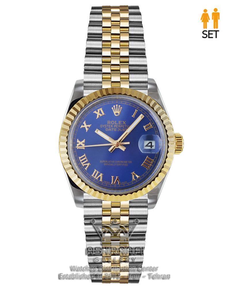 ساعت رولکس اندکس یونانی ROLEX Datejust 08